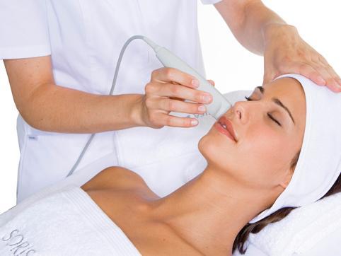 tratamiento facial con crioterapia