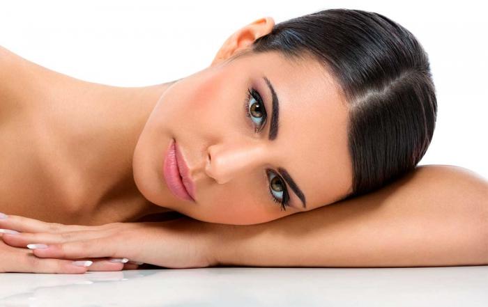 tratamiento facial con fotorejuvenecimiento laser