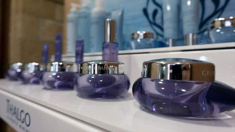 Amplio stock de productos en nuestro centro de estética belleza y salud Mari Fe